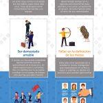 8 errores comunes que un líder debe evitar